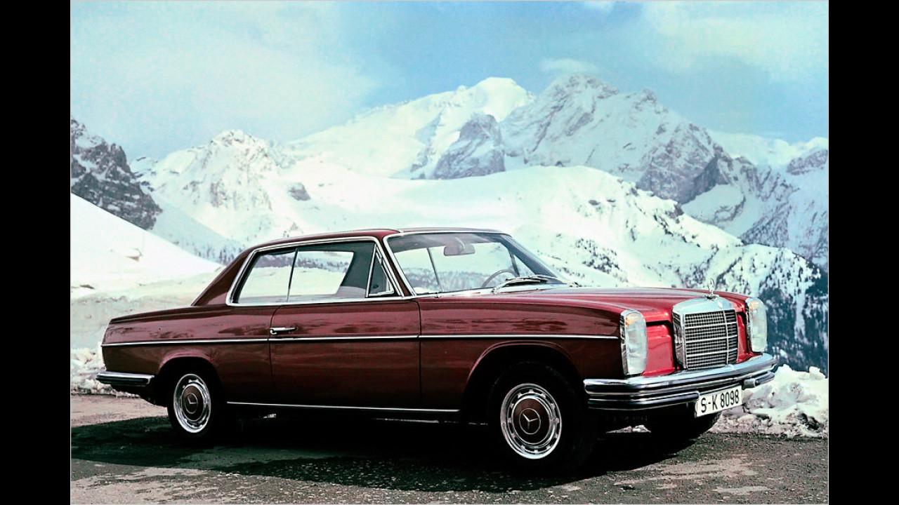 Platz 3: Mercedes Baureihe W 114/115