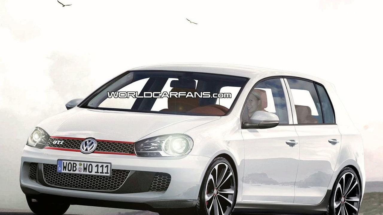 VW Golf VI GTI artist rendering