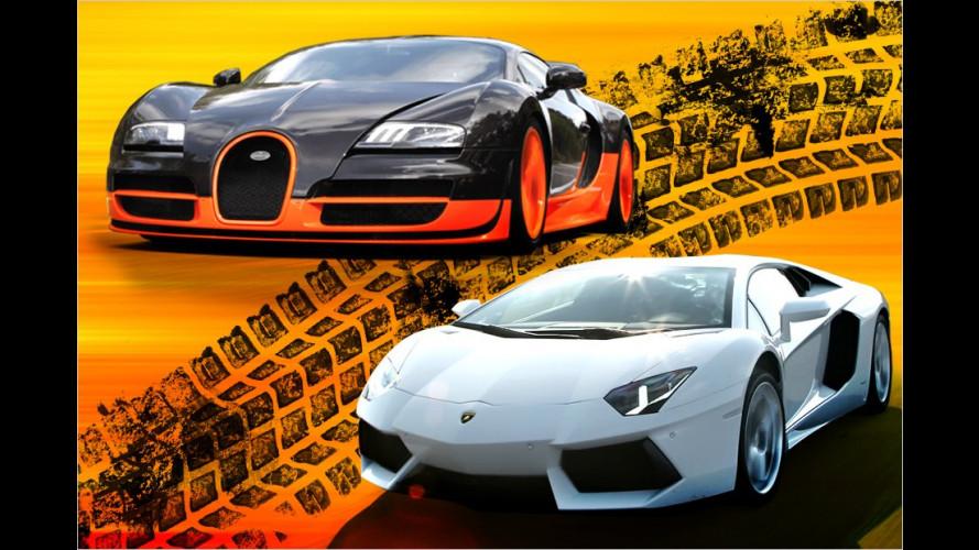 Absolute Spitze: Die schnellsten Autos der Welt