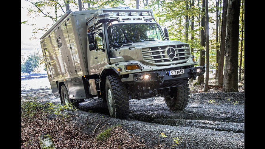 Mercedes Zetros: Ein Offroader mit Luxus-Appartement