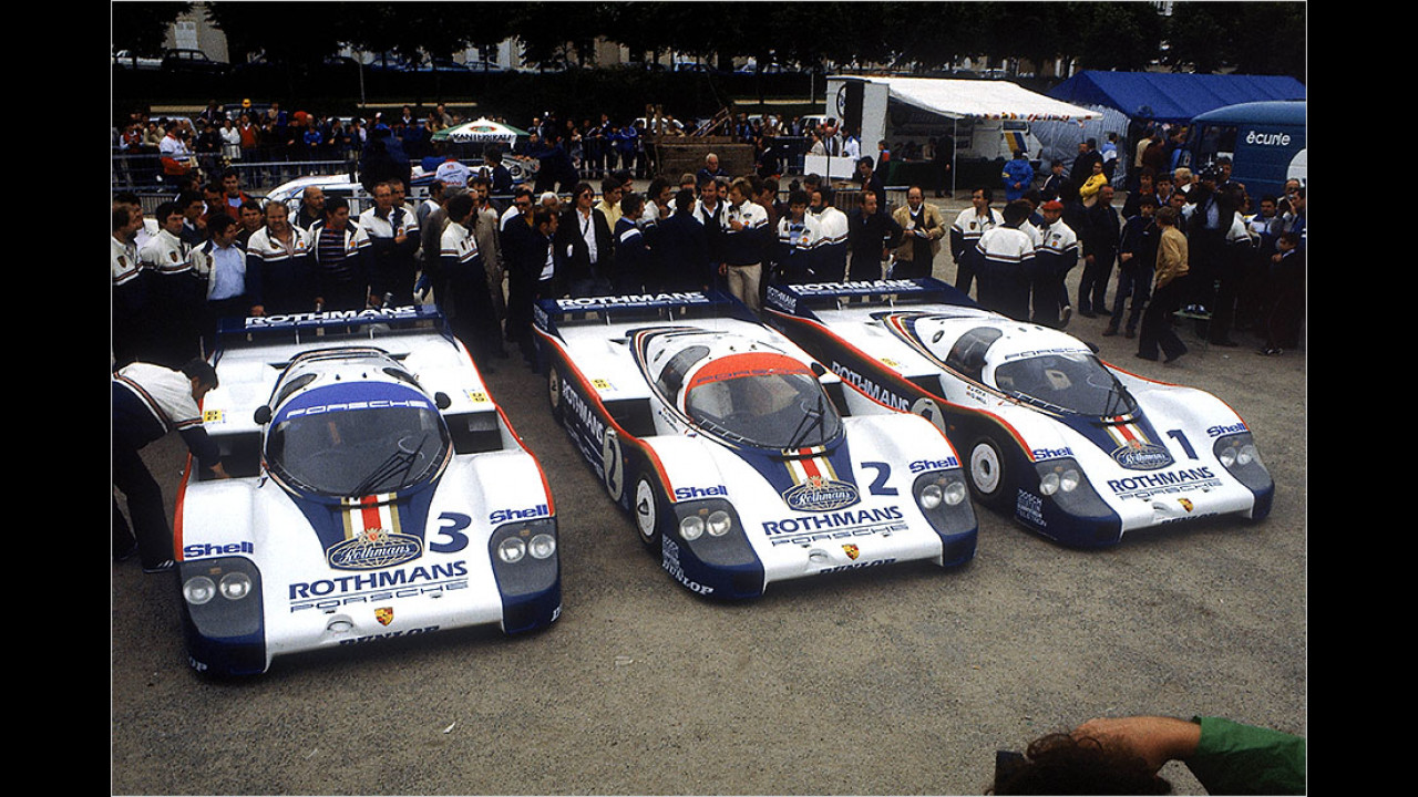 1982 bis 1985: Porsche 956