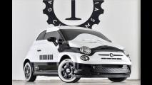 Stormtrooper fahren Fiat 500e