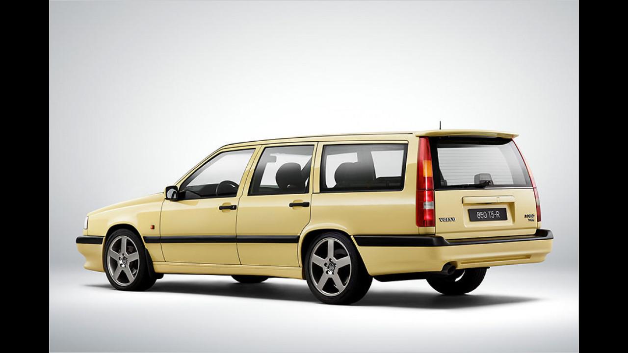 Volvo 850: Die senkrechten Rückleuchten