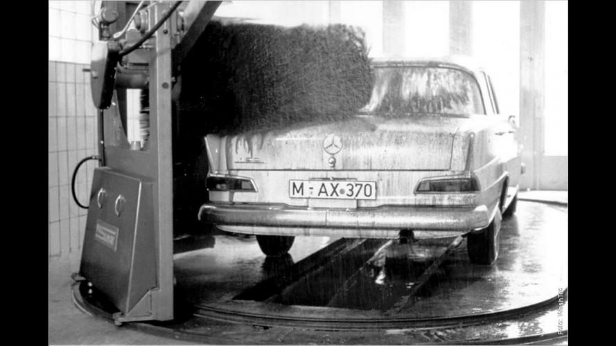 Mit allen Wassern gewaschen: 50 Jahre Autowaschanlage