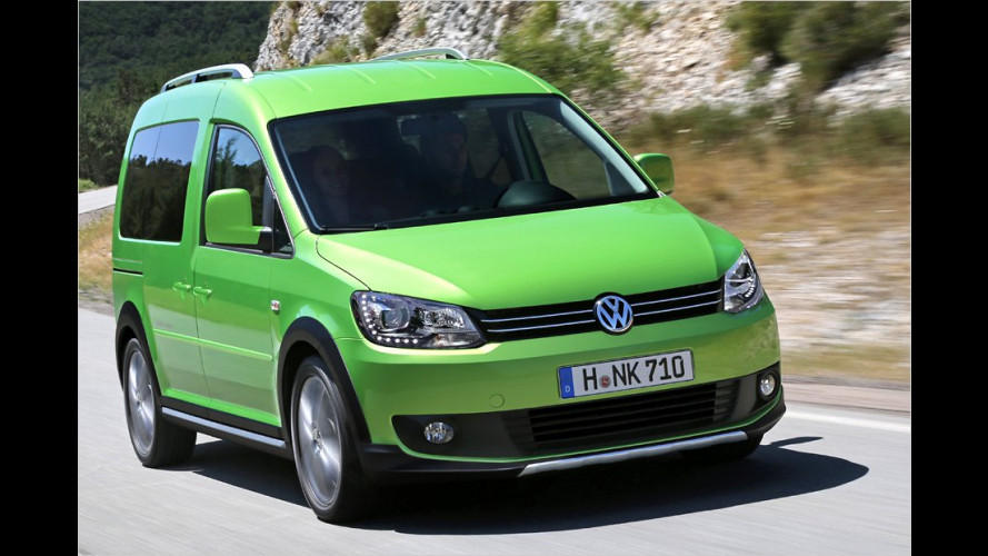 VW Cross Caddy (2012): Robuste Optik für den Outdoor-Einsatz