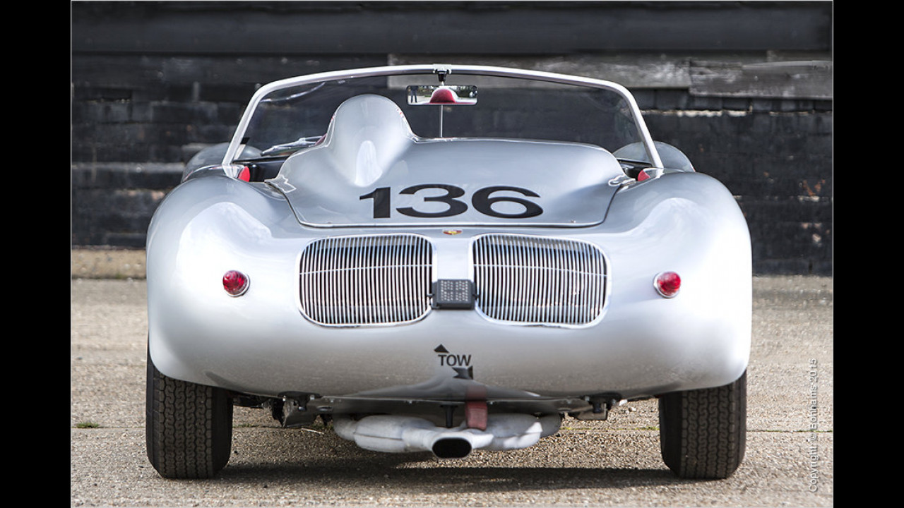 Porsche 718 RS-61 Spyder Stirling Moss 1961
