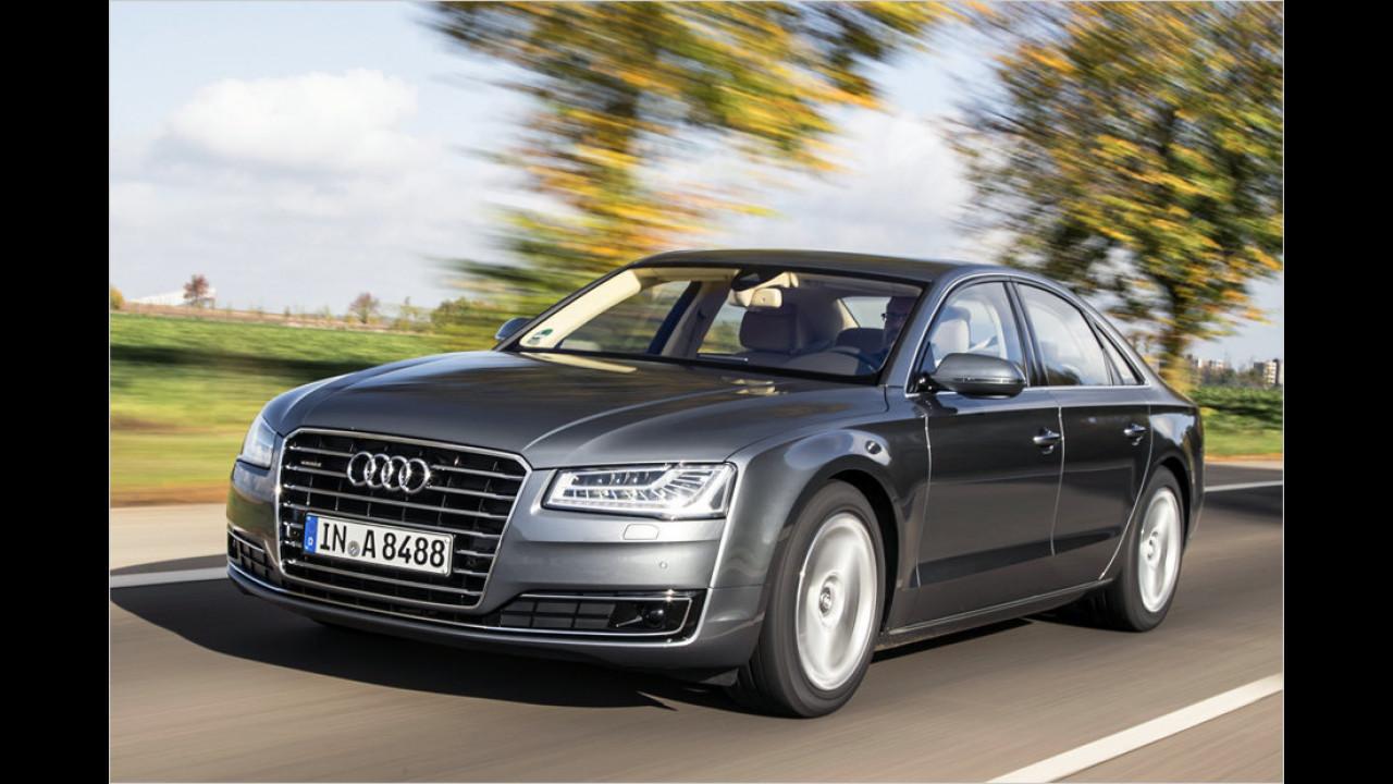 Gelifteter Audi A8: Licht-Gestalt
