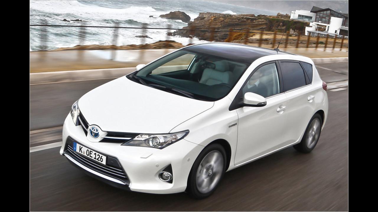 VCD Auto-Umweltliste, geteilter Platz 5: Toyota Auris Hybrid, 7,38 Punkte
