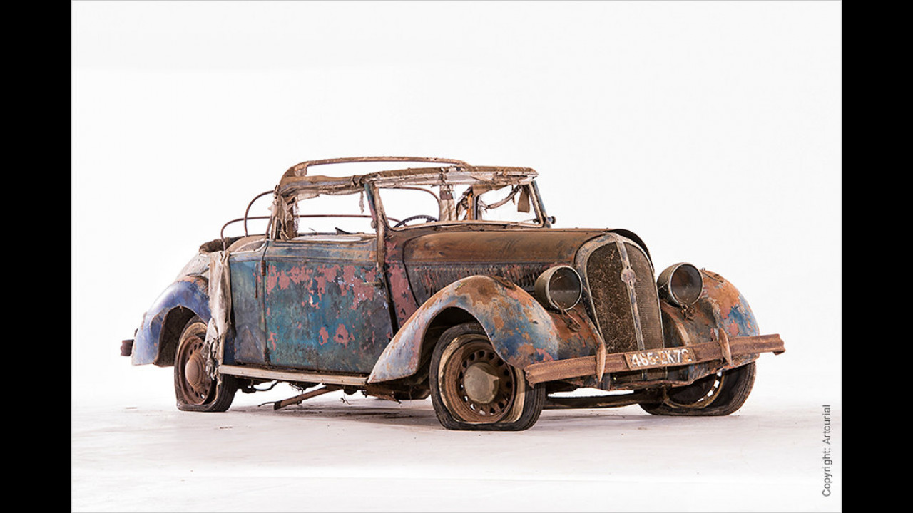 Hotchkiss 686 Paris-Nizza Cabriolet (ca. 1939)