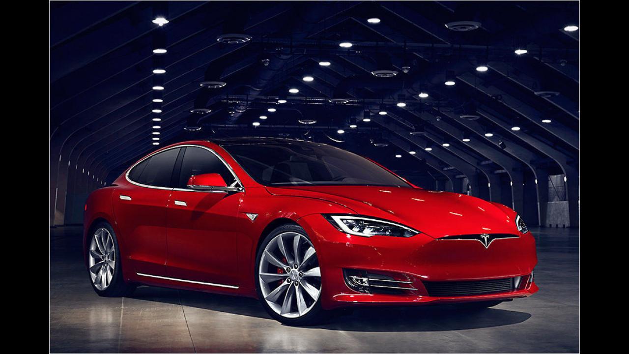 Tesla Model S P100D: 2,7 Sekunden
