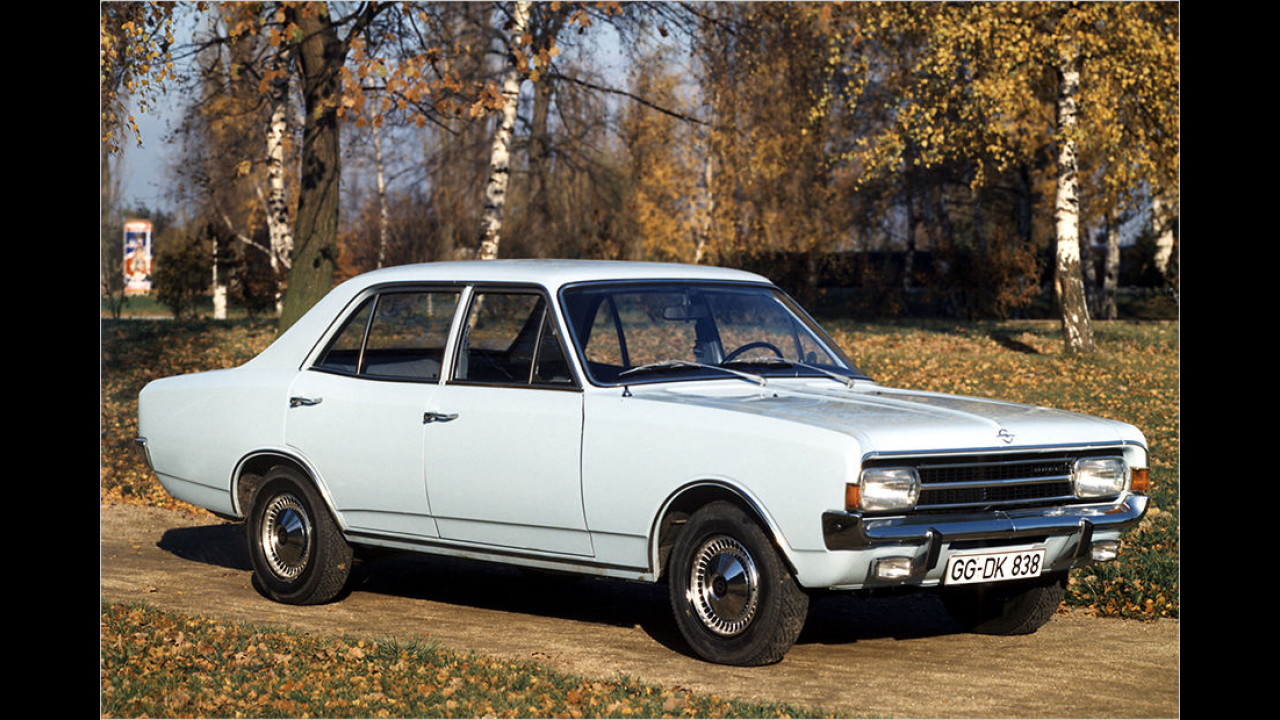 50 Jahre Opel Rekord C