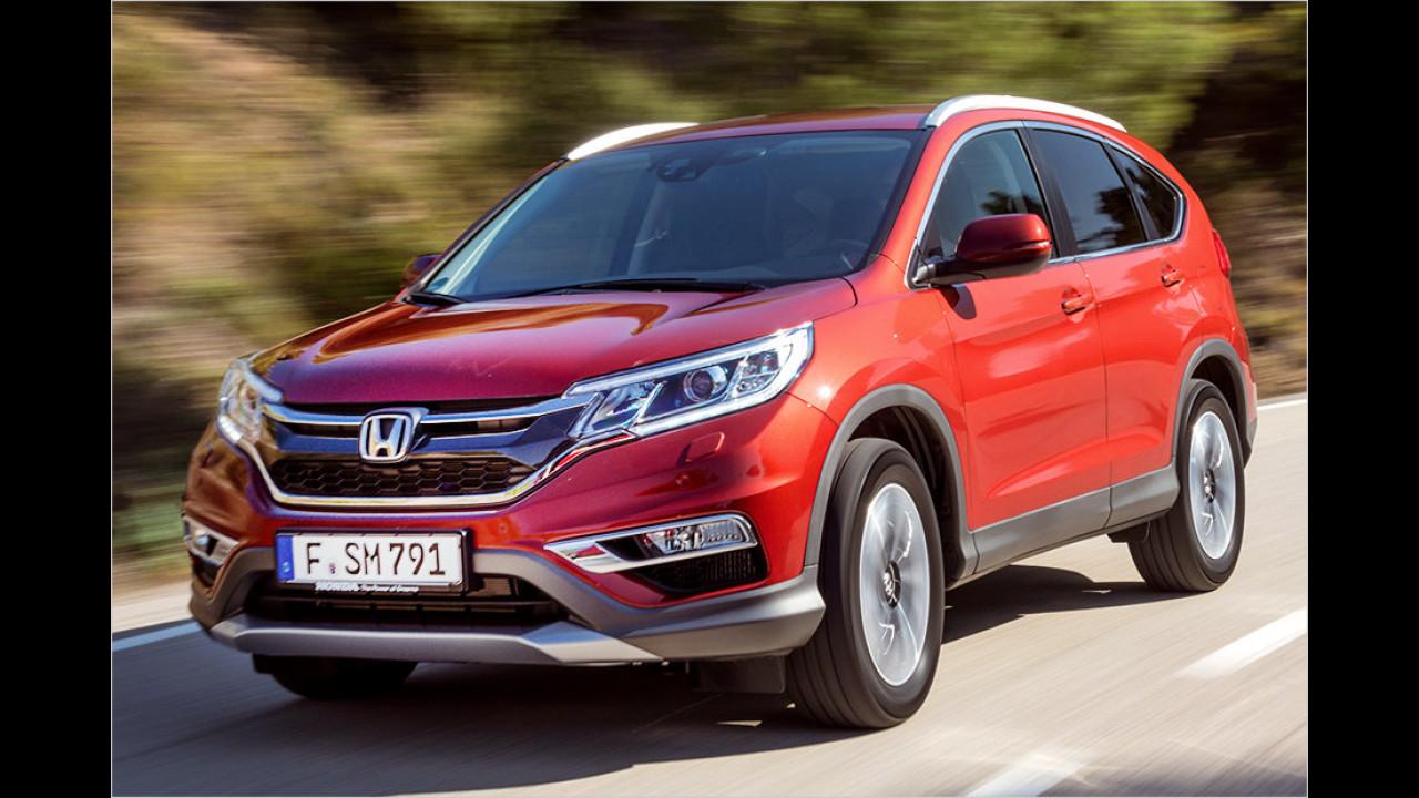 Mittelklasse-SUV: Honda CR-V