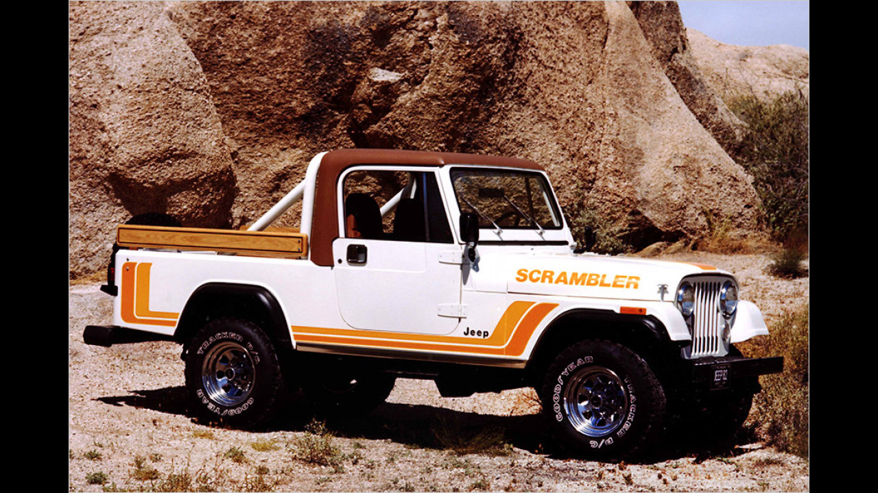 Jeep CJ-8 Scrambler: 1981-1985