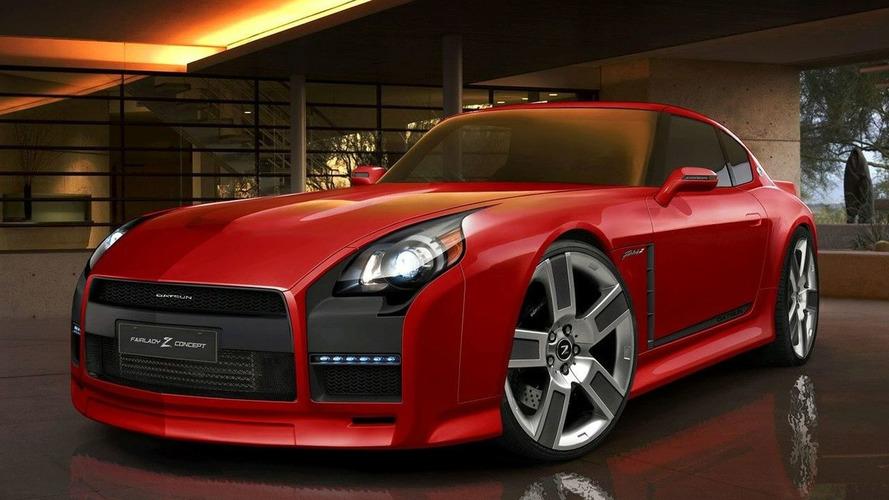 Rendered Speculation: Nissan 240/Fairlady Z