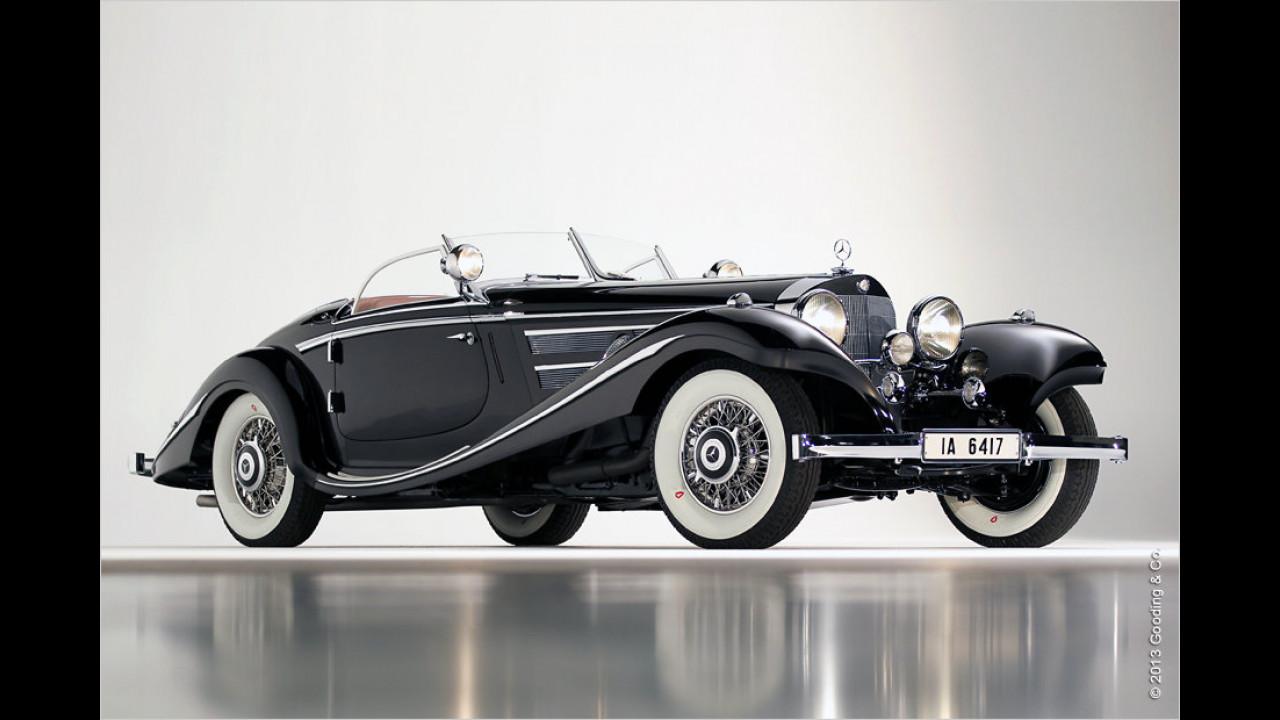 Platz 5: Mercedes-Benz 540K Spezial Roadster, Baujahr 1936