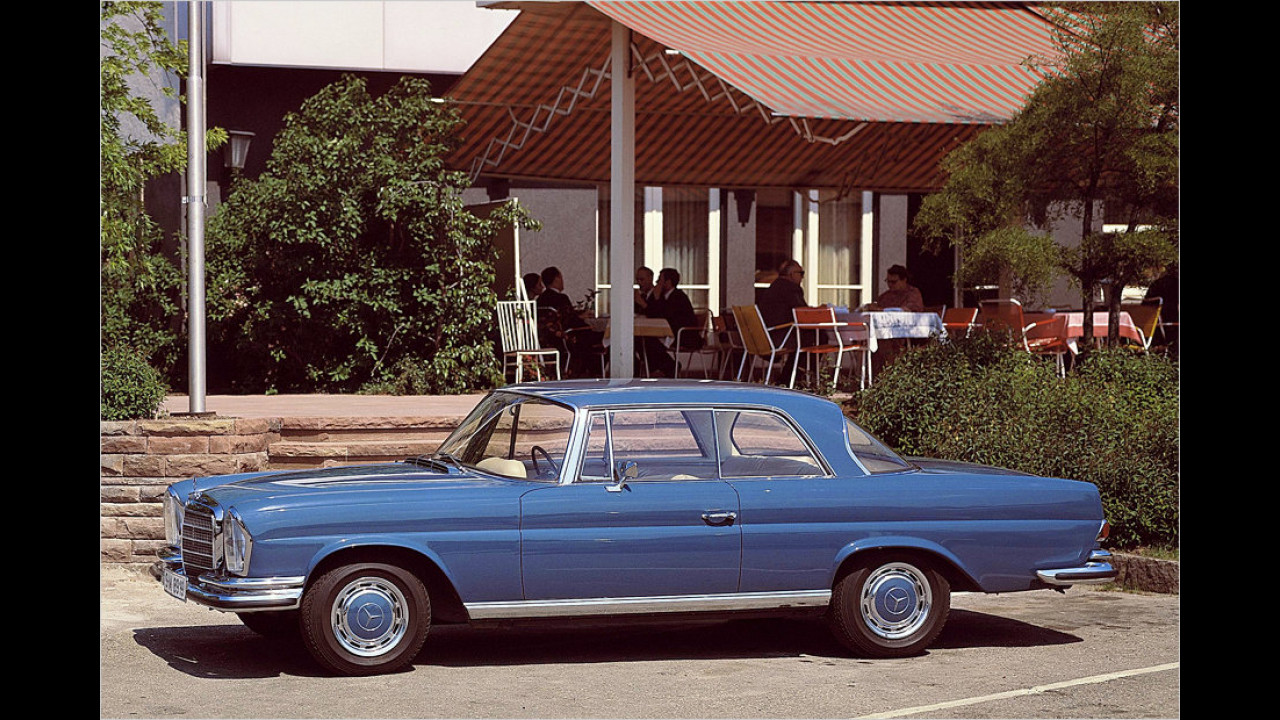 Mercedes 250 SE Coupe (1965)