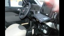 Langgezogener Fiat 500
