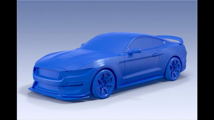 Ford-Modellautos aus dem eigenen 3D-Drucker