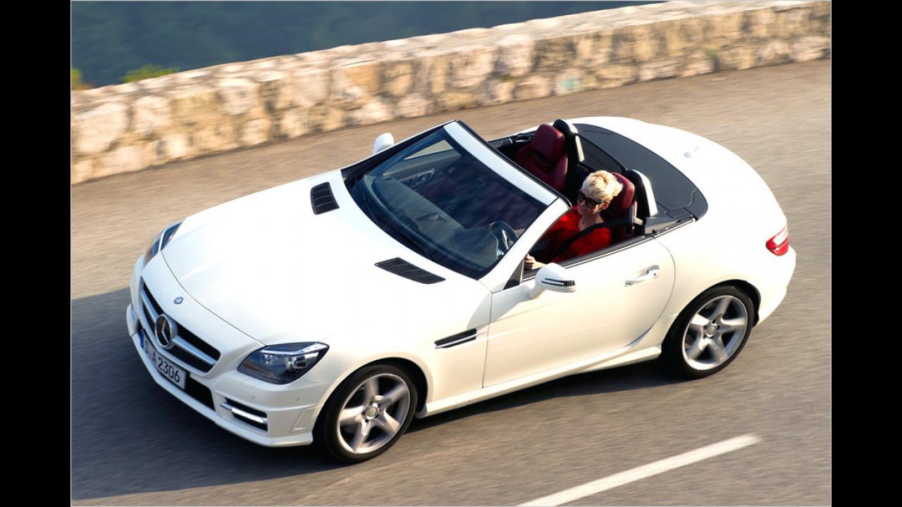 BMW Z4 gegen Mercedes SLK