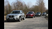 suv test bmw x3 audi q5 ford kuga mazda cx 5