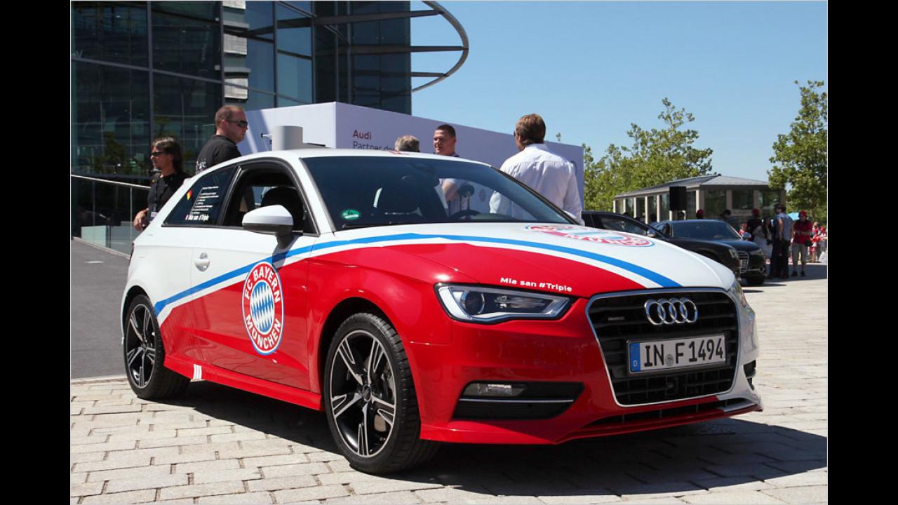 Bayern München: Audi A3 Sportback