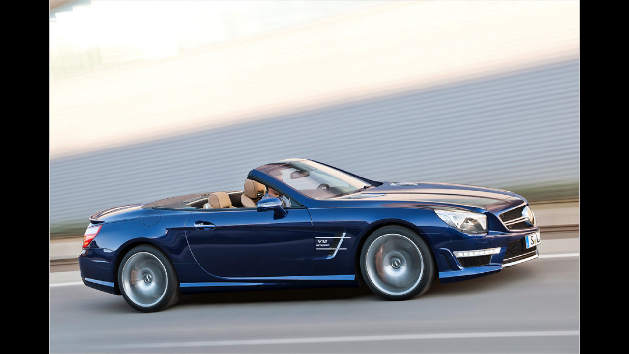 Mercedes SL 65 AMG: 630 PS