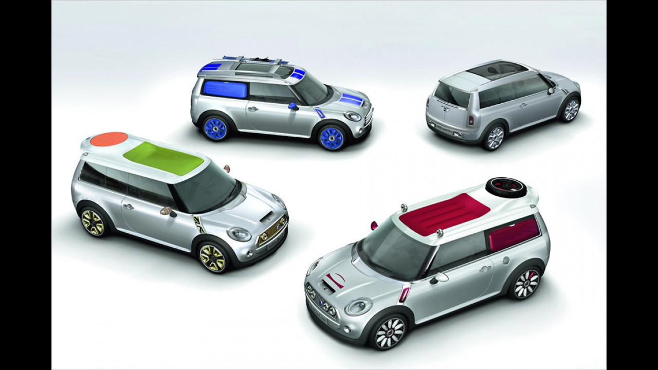 2005/2006: Mini Concept Frankfurt, Tokyo, Detroit, Geneva