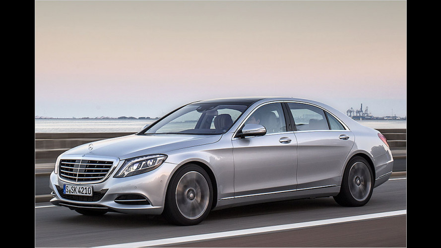 Mercedes S 500 Plug-in-Hybrid im Test
