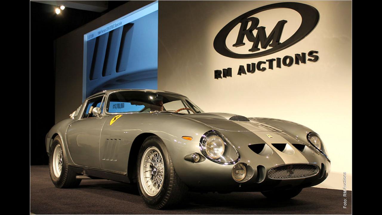 Platz 2: Ferrari 275 GTB/C Speciale, Baujahr 1964