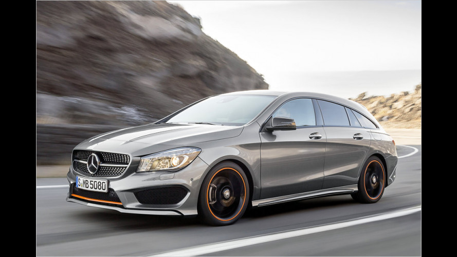 Mercedes gibt Preise des CLA Shooting Brake bekannt
