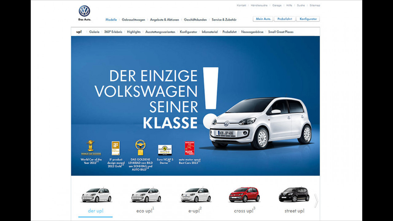 Der einzige Volkswagen seiner Klasse