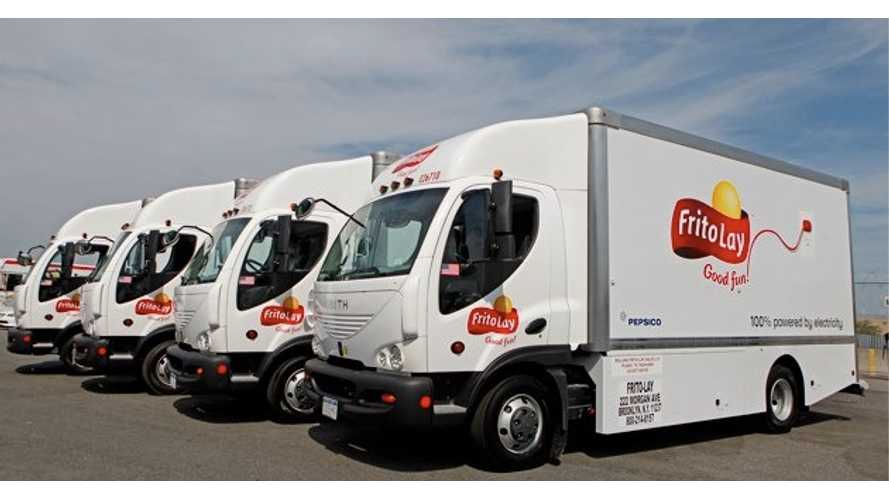 Frito-Lay Adds 20 More Electric Trucks In New York