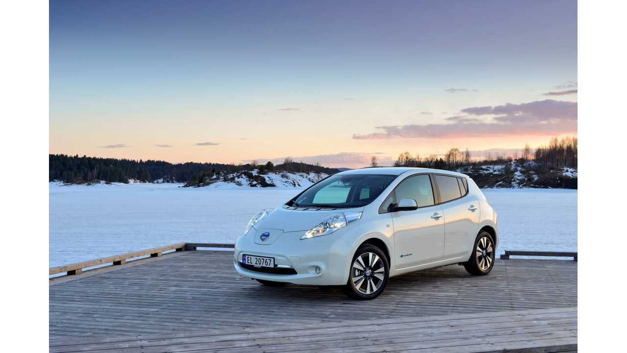 In Norway, Nissan LEAF Took #7 In Overall Sales in July With 2.4% Share; Tesla Model S Joins Party In August