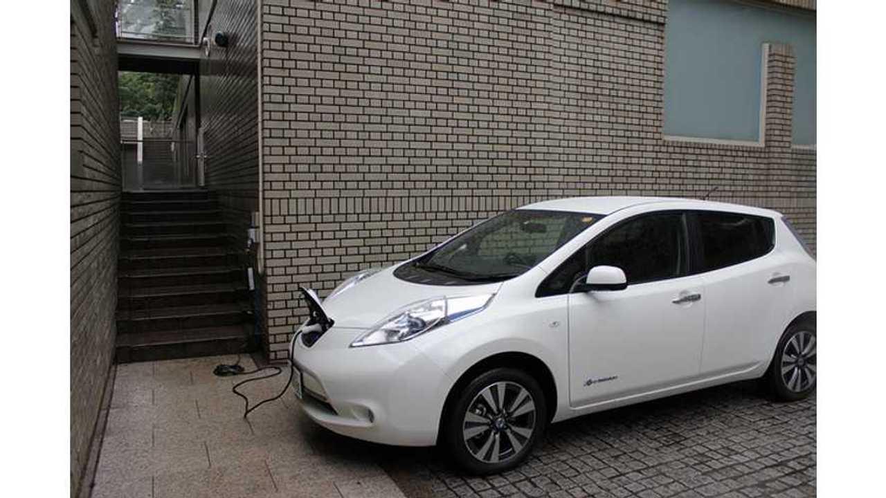 Nissan LEAF Captures 0.6% of Midsize Vehicle Segment