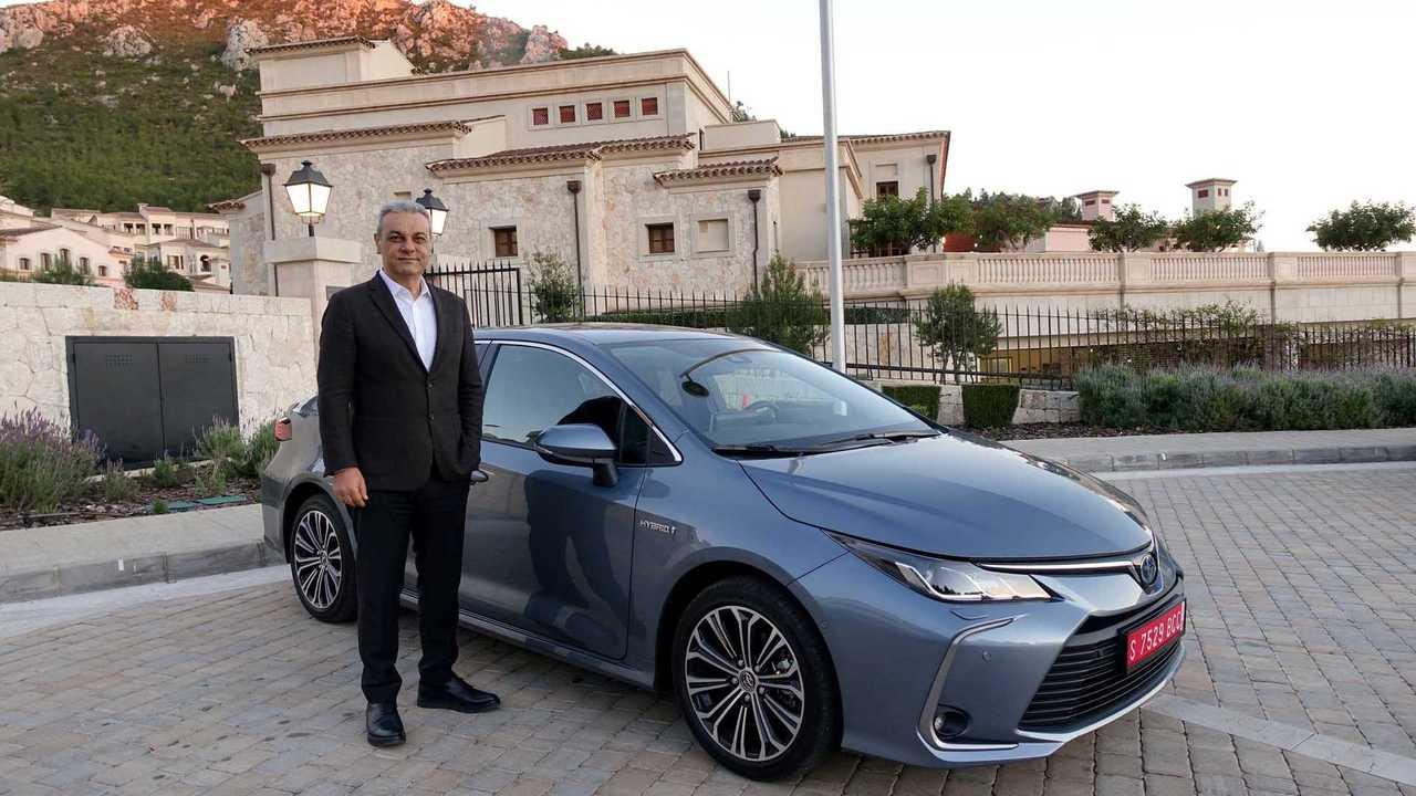 Toyota Türkiye CEO'su Ali Haydar Bozkurt ve Yeni Corolla