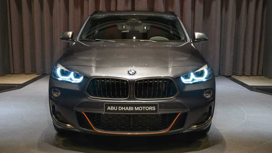 BMW Abu Dhabi Motors'tan Modifiyeli bir X2 M35i