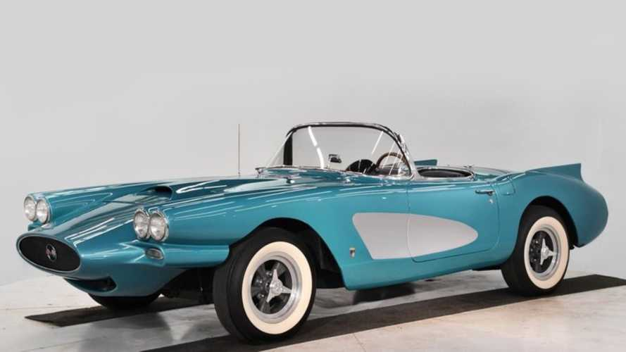 Drive This One-Of-A-Kind Genuine 1958 Corvette Barris Custom