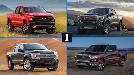 Pickup Truck Comparison: F-150, Silverado, And Ram Versus Japan