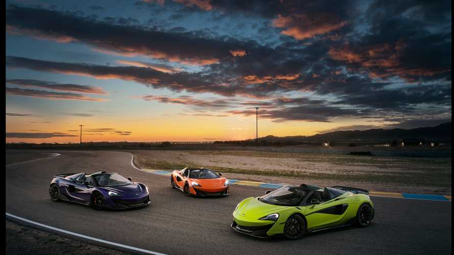 2019 McLaren 600LT Spider first drive