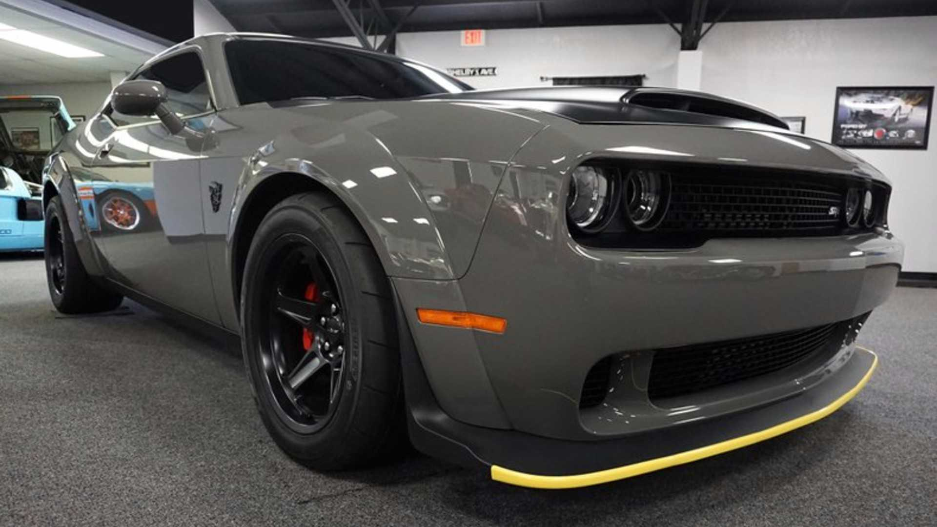 "[""Will This Dodge Demon Break $150K With Leake Auctions?""]"