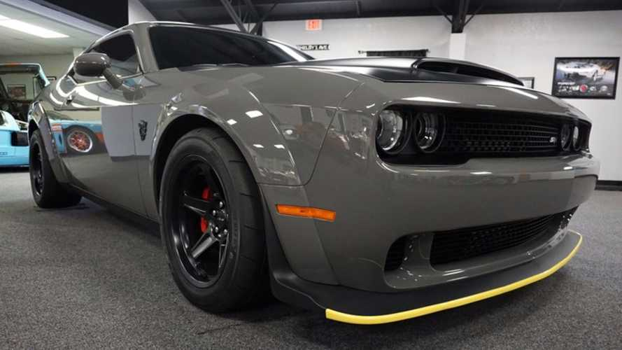 Will This Dodge Demon Break $150K With Leake Auctions?