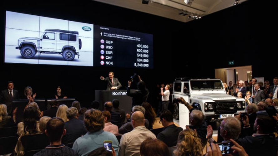 Il due milionesimo Land Rover Defender in Qatar