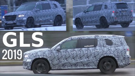 New Mercedes GLS Looks Larger Than Life In German Traffic