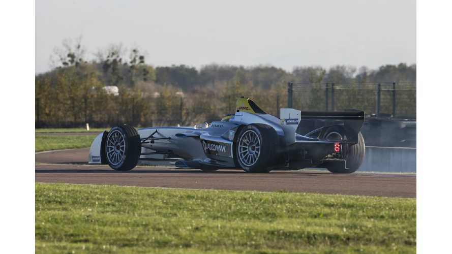 Formula E Racer Completes Successful Testing (w/video)