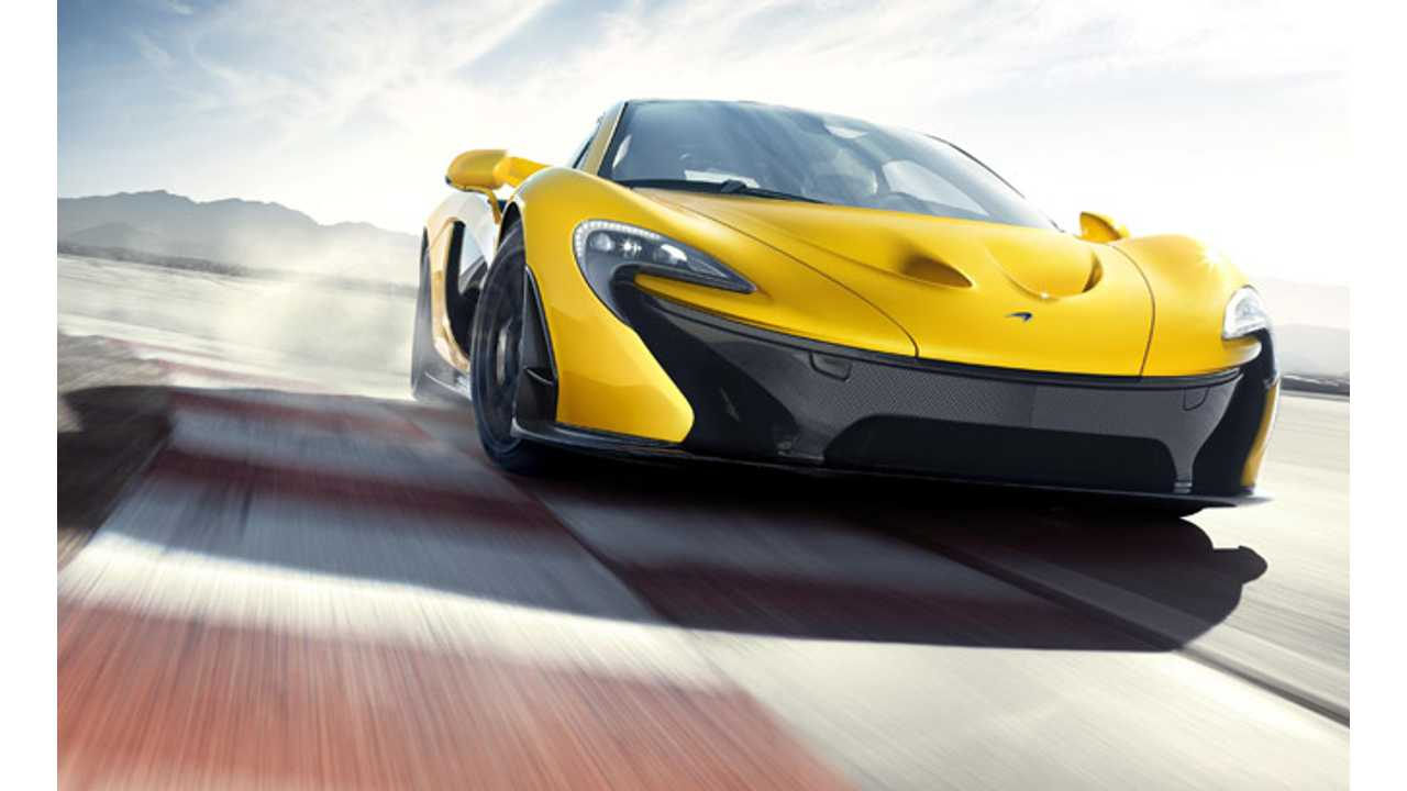 McLaren P1 is Sold Out