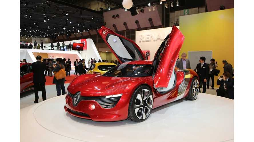 Renault DeZir Shows Up at the 2013 Tokyo Motor Show (Videos and Photos)