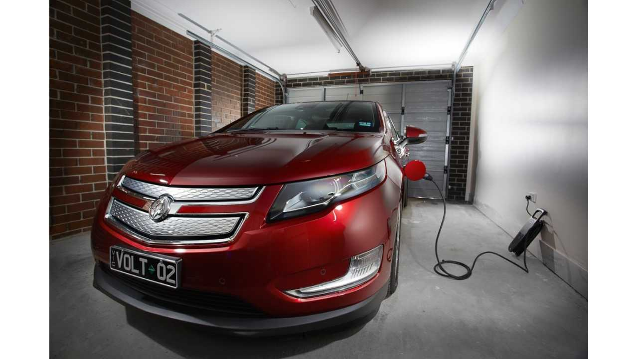 Holden Volt Gets A Charge