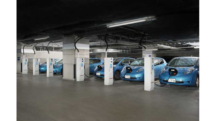 Nissan LEAF Powers Nissan's Advanced Technology Center in Japan