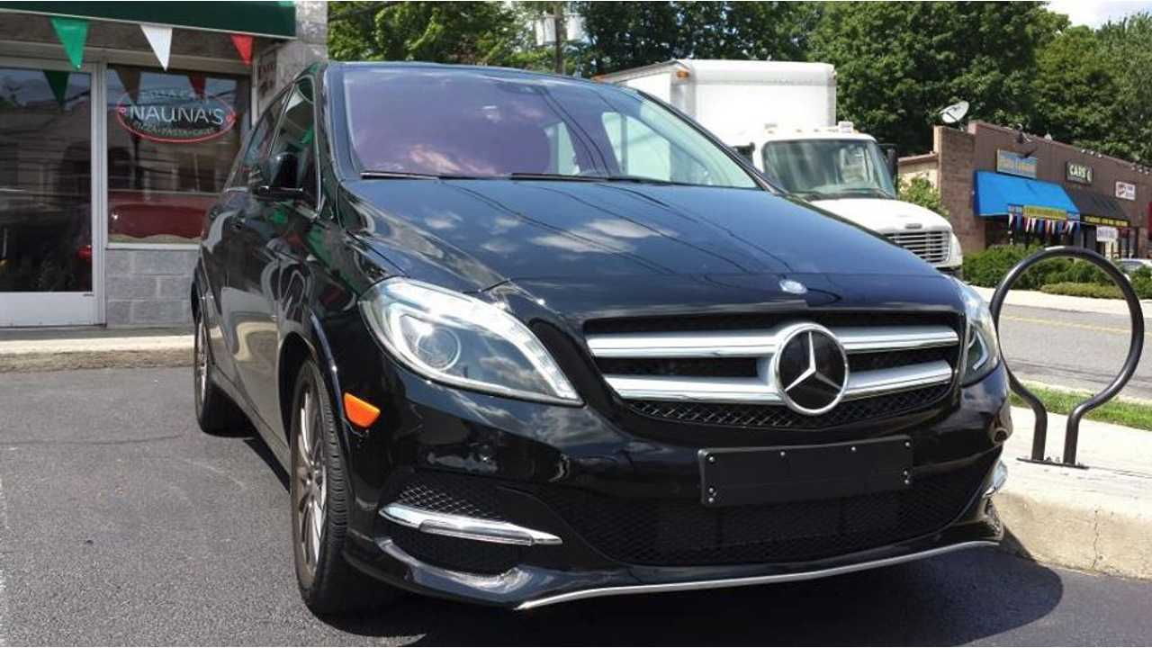We Caught A Mercedes B-Class Electric Drive Out For A Test Spin Over The Summer In The US