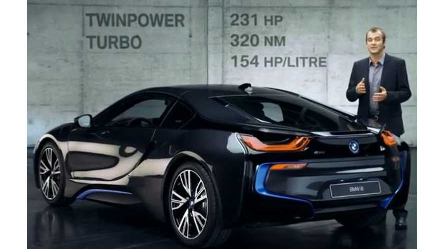 Video: BMW i8 Performance in Detail